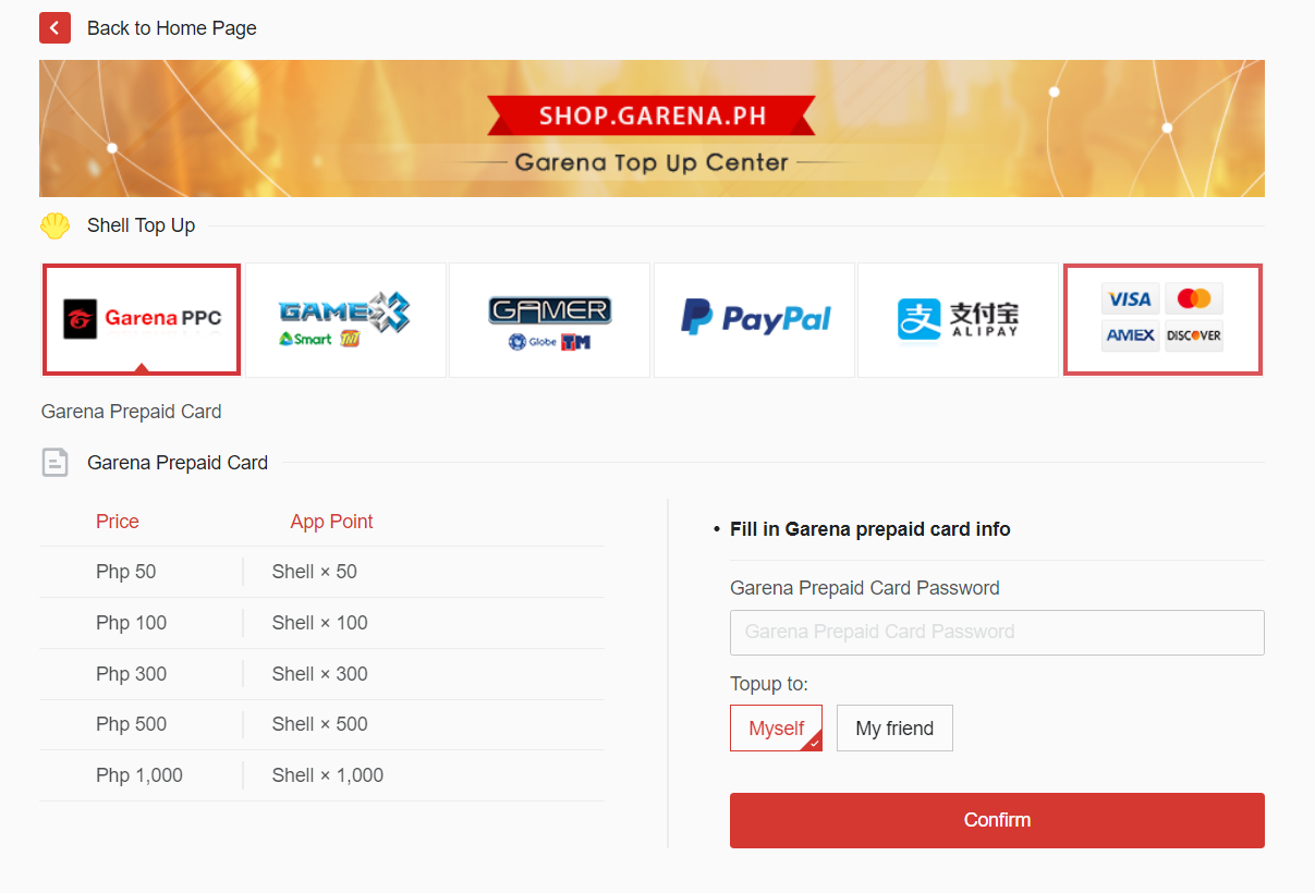 Purchase Issues - GARENA LOL SUPPORT