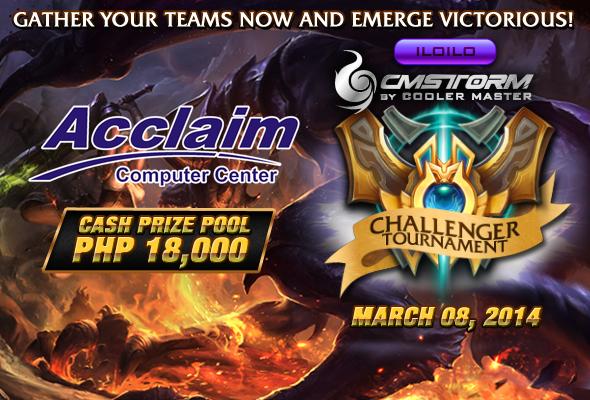 Challenger Tournament - Acclaim Iloilo