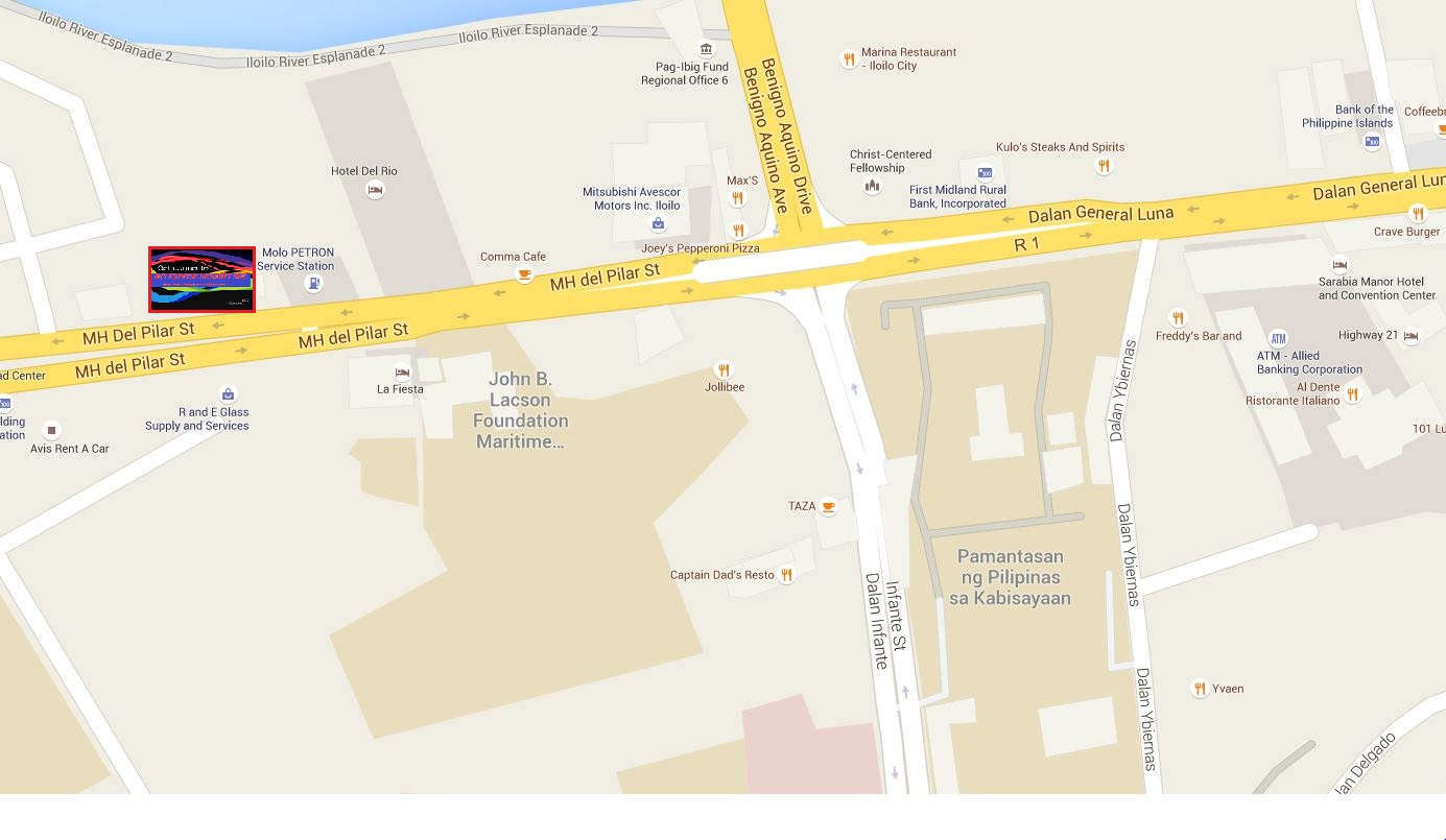 Teemo Cup Iloilo Net Express Internet Hub - Iloilo city map
