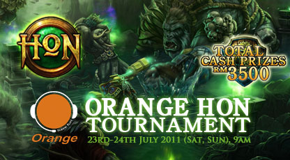 Orange Cafe Tournament