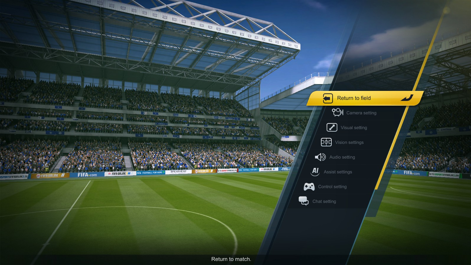 Game Setting | FIFA ONLINE 3