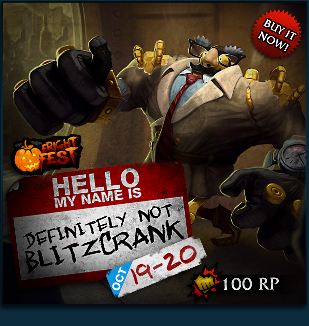 Frightfest: Definitely Not Blitzcrank