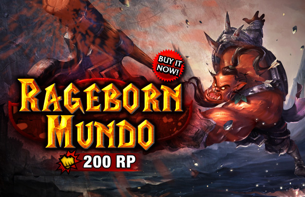Mundo Mundo Skin Rageborn mundo skin releaseMundo Halloween Skin