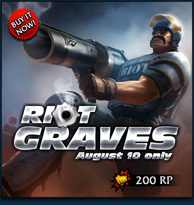 Riot Graves Skin