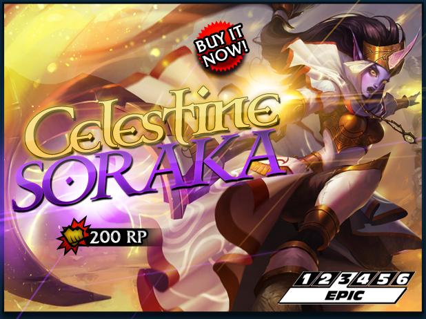 Celestine Soraka Skin Release