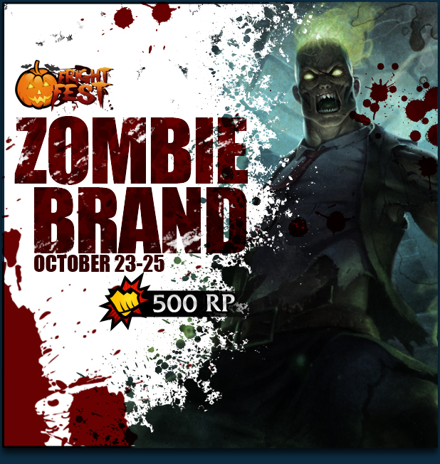 with the price of 500RP from October 23, 2013 until October 25, 2013