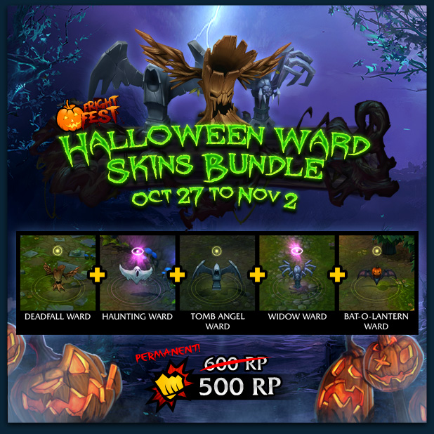 Halloween Ward Skins Bundle