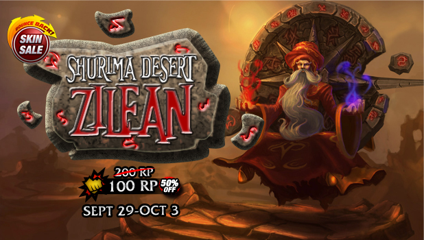 Zilean price will increase to 200RP starting September 29, 2013