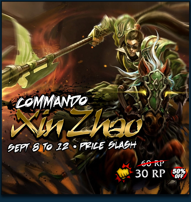 Commando Xin Zhao Price Slash