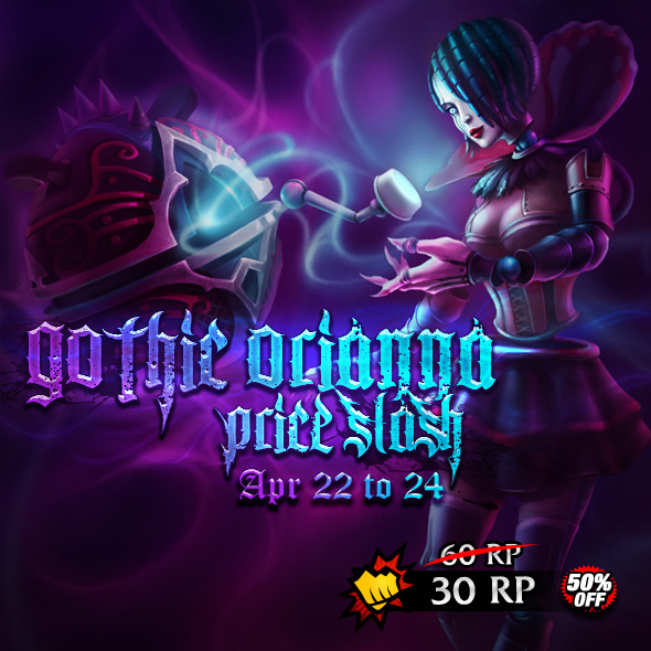 Gothic Orianna Skin Price Slash