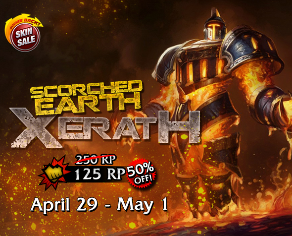 Scorched Earth Xerath