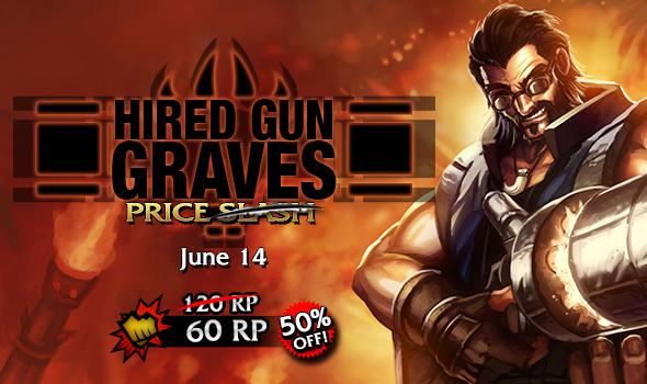 Hired Gun Graves Skin Price Slash