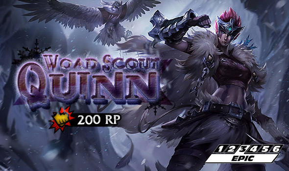 fight for the freljord with woad scout quinn