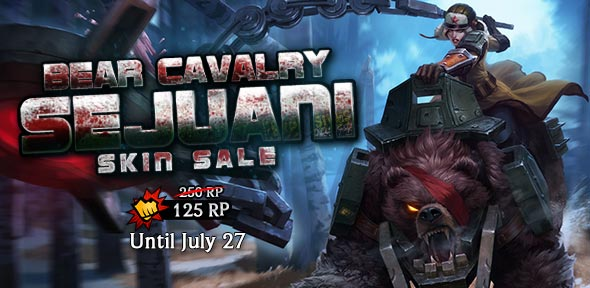Bear Cavalry Sejuani