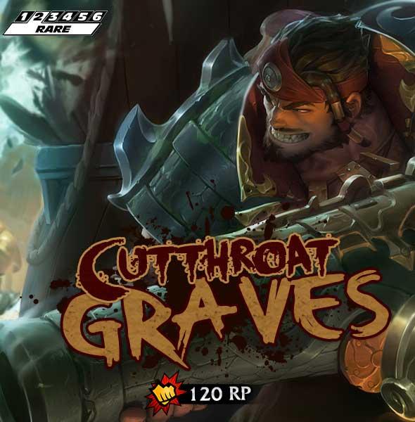 Cutthroat Graves Skin Release