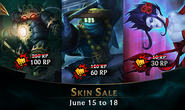 Skin Sale June 15 To 18