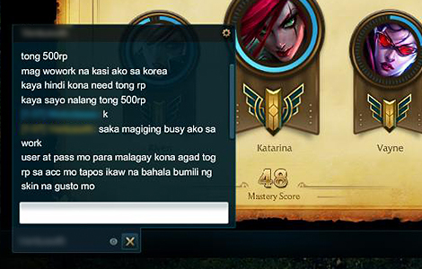Protect your Garena Account