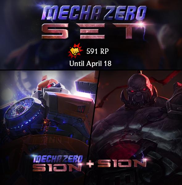 Mecha Bundles: Now Available until April 18