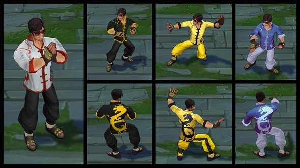 Dragon Fist 4 Game
