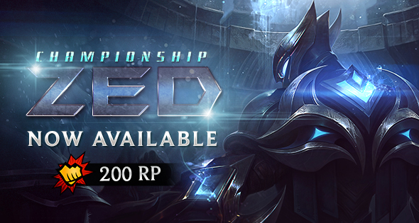 championship zed now available