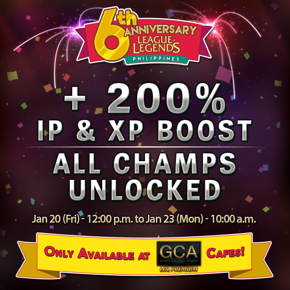 200% IP&XP GCALP Boost