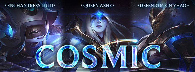 Cosmic 2018 Skins - Now Available