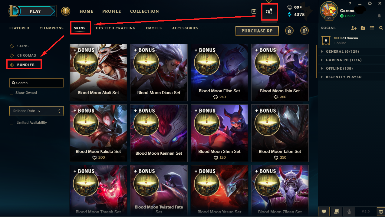 Blood Moon Buy 1 Get Promo May 11 To 15 Garena 50 Shell Q Can I Refund The Bundles Mg Have Purchased A Like Always You Cannot Free Mystery Gift From This Event Is Also Nonrefundable
